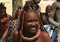 African Tribe Woman