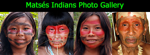 Photographic Gallery | Matses Indians